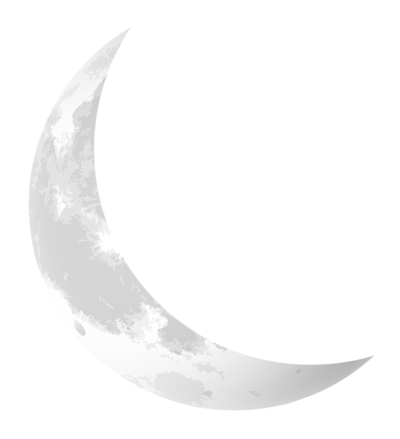 Black Crescent Clip Art At Clker Com Moon Svg Png Download Transparent Png Image Moon Icon Moon Outline Tribute Tattoos