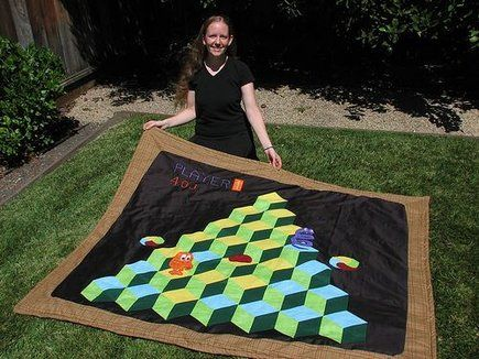 8 Awesome Videogame Quilts | Quilting projects, Patterns and Craft : video game quilt pattern - Adamdwight.com