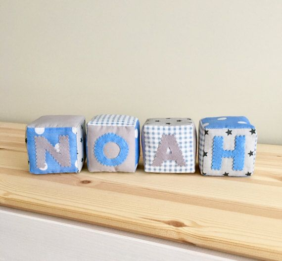 Personalized baby blocks personalized baby gift blue by inicrafts personalized baby blocks personalized baby gift blue by inicrafts negle Choice Image