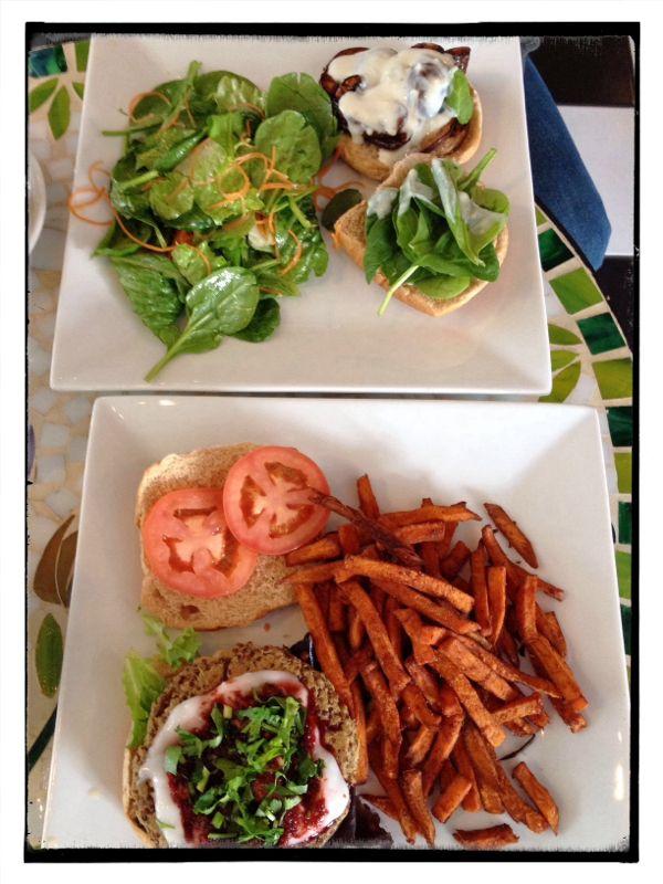 Vegan Burgers From The Bowllery In Denton Texas Food Drink