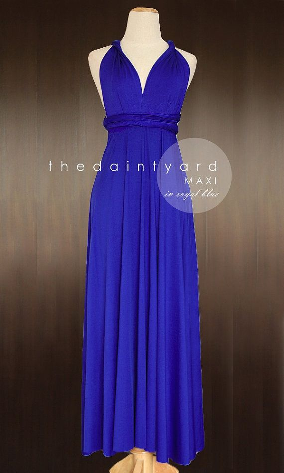 Slate Bridesmaid Dress Convertible Dress Infinity Dress Multiway ...