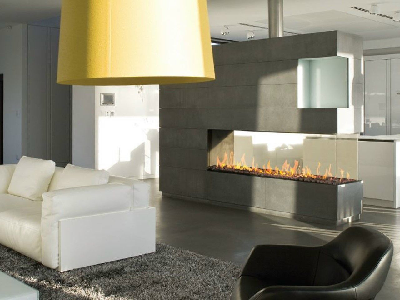 3 sided gas fireplace choice image home fixtures decoration ideas