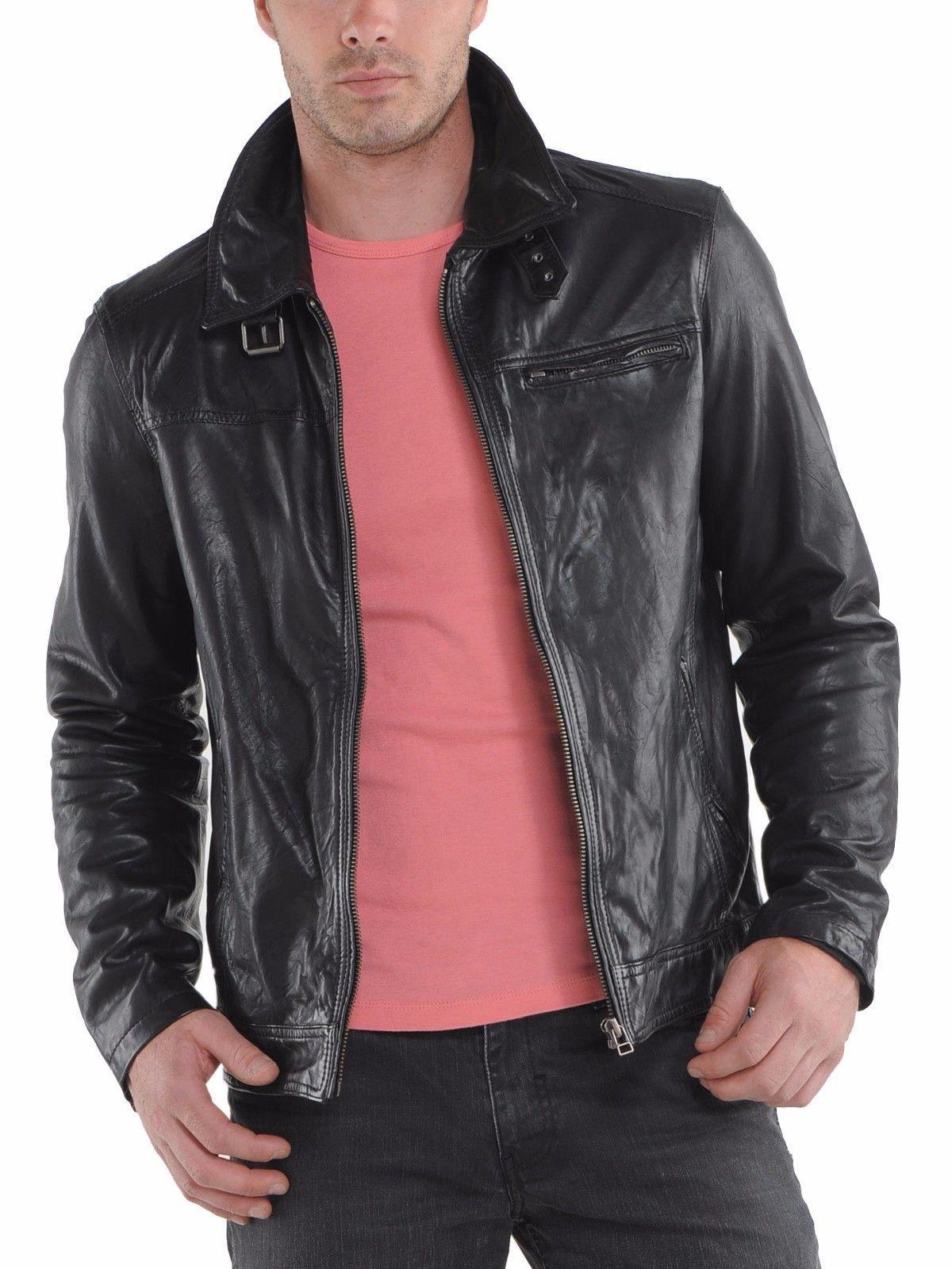 New Handmade Men Fashion Cowhide Jacket Biker Leather Fashion Jacket For Men Bonanzaleathersplane Leather Jacket Men Mens Leather Jacket Biker Leather Jacket [ 1600 x 1200 Pixel ]