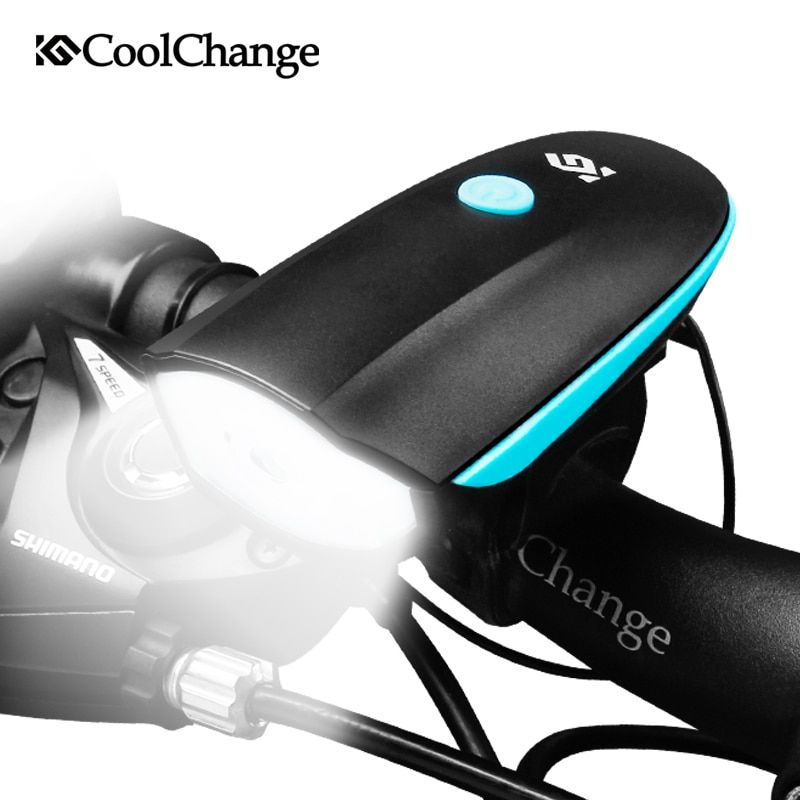 Discount This Month Coolchange Bicycle Bell Usb Charging Bike Horn