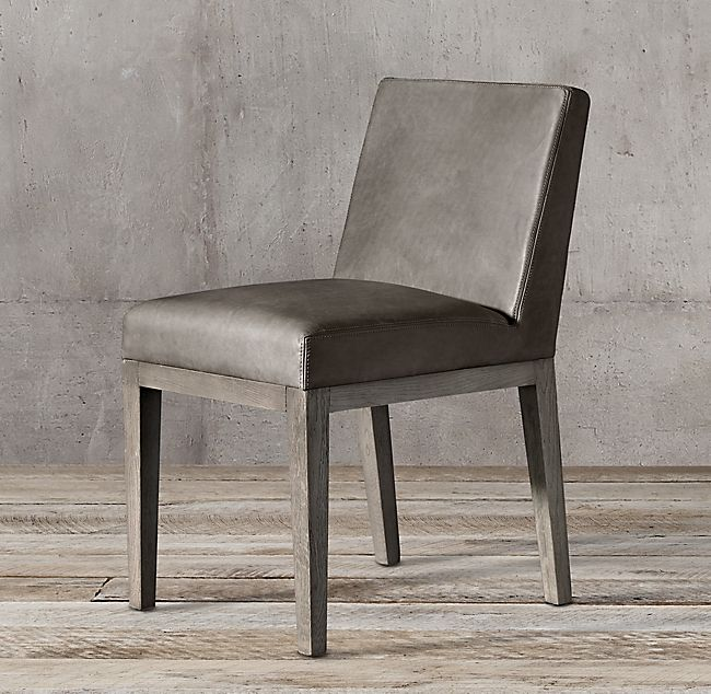 e38182af34 Morgan Leather Side Chair in 2019   dining setting   Side chairs ...
