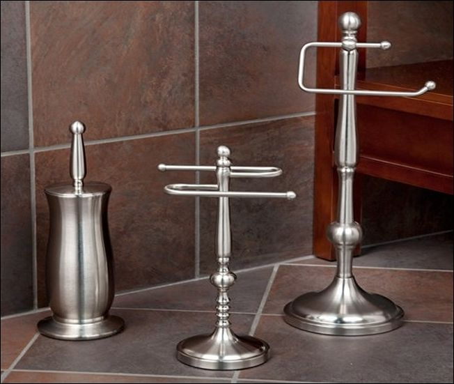 Brushed Nickel Bathroom Accessories Lowes