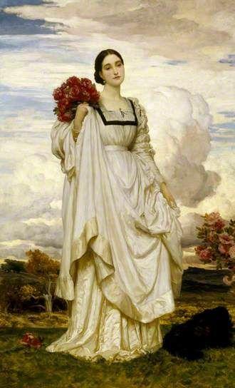 Lady Adelaide Chetwynd-Talbot (1844–1917), Countess Brownlow - Frederic Leighton (c1879)