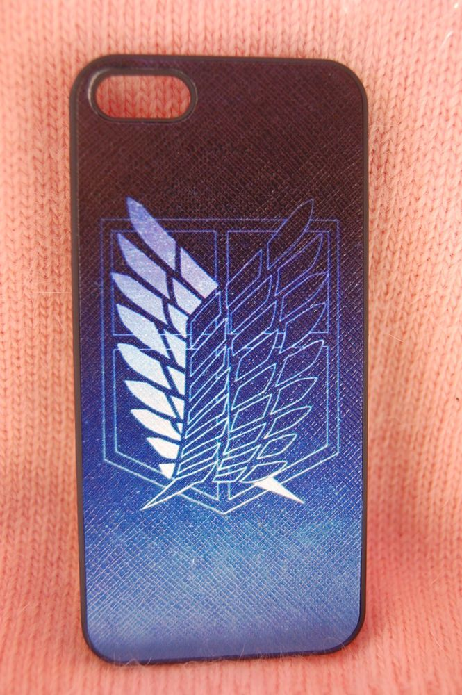 Usa Seller Apple Iphone 5 5s Anime Phone Case Cool Attack On Titan