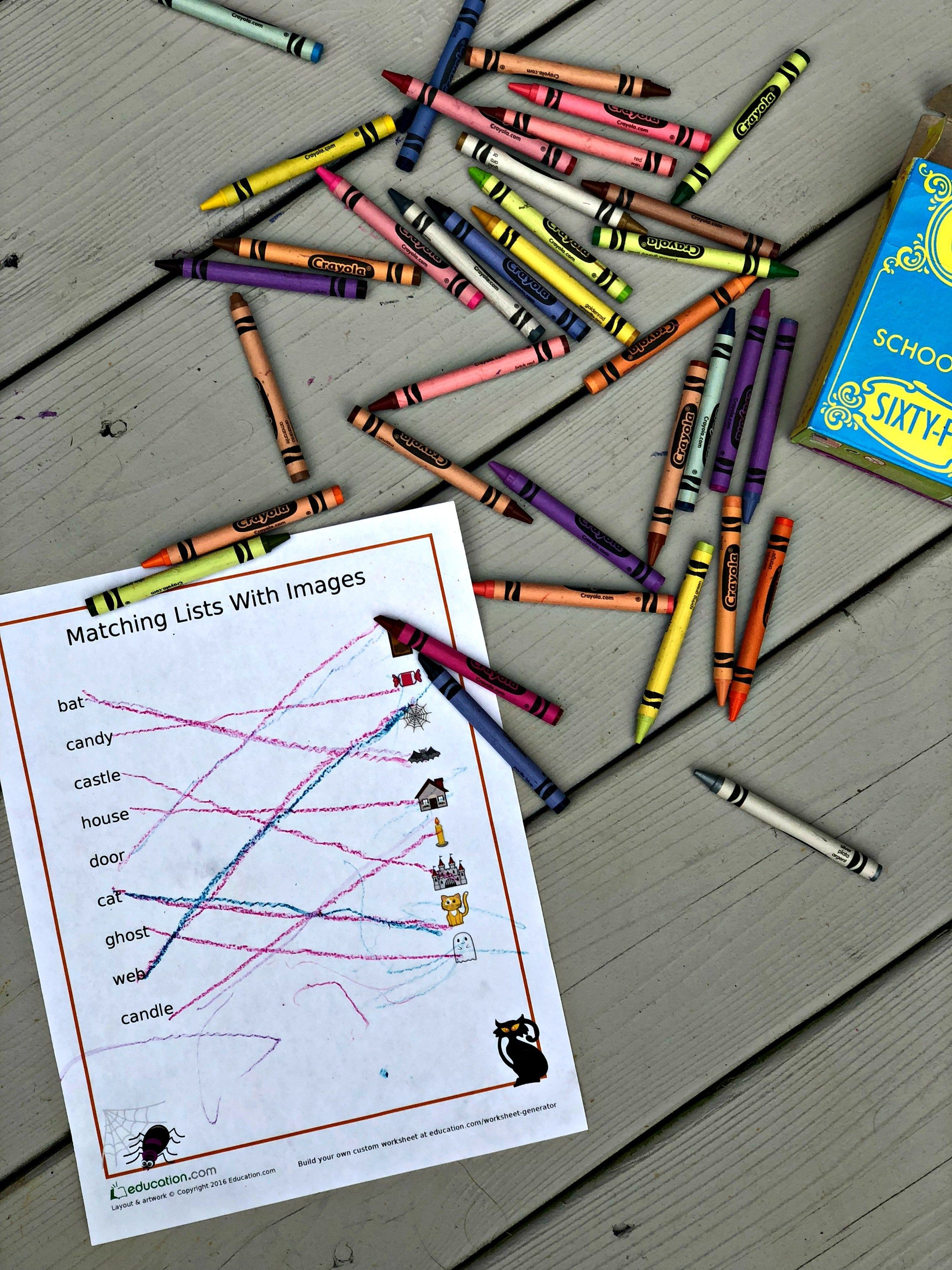 Toddler Educational Tools Amp A Free Halloween Printout For