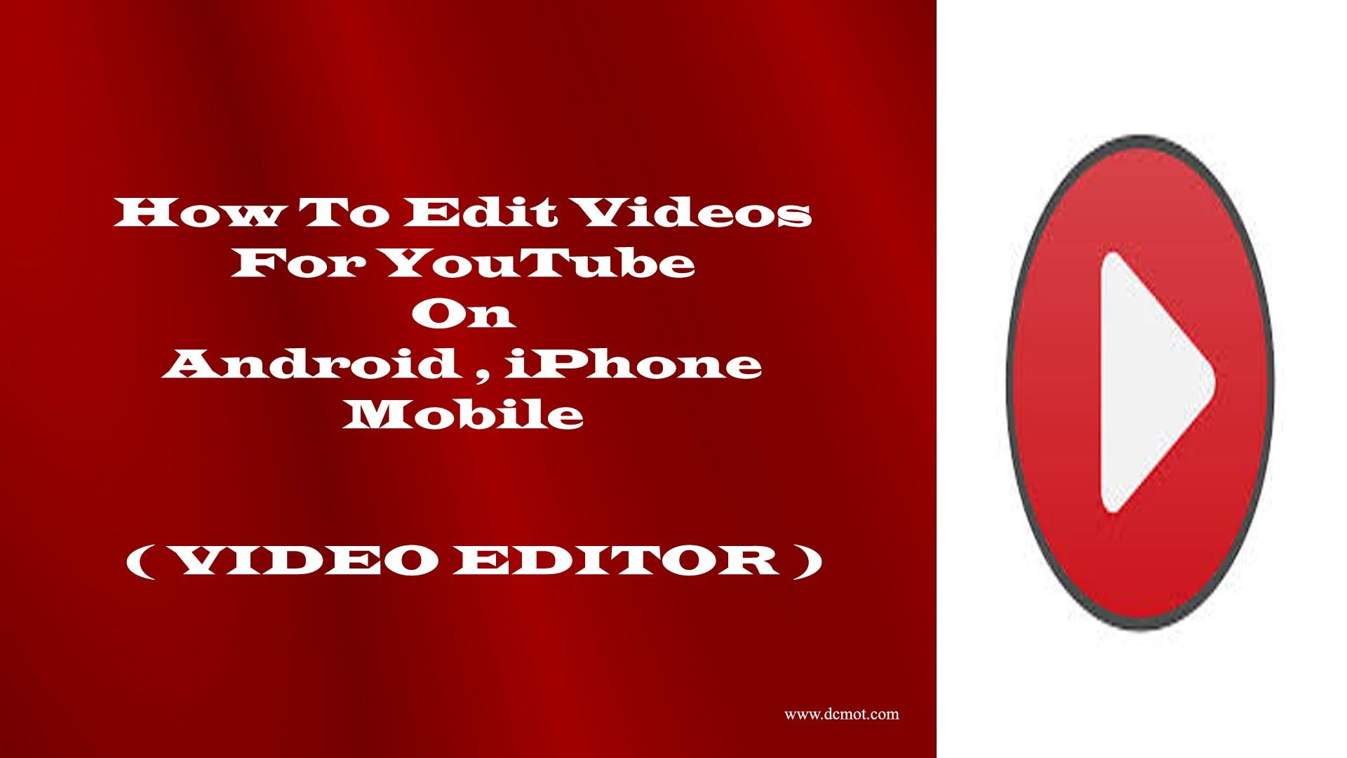 how to edit video for youtube on android and iPhone | video editor | | Video  editing, Iphone video, Iphone video editor