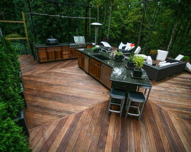 Terrasse en bois - 75 idées pour une déco moderne Terrasses en