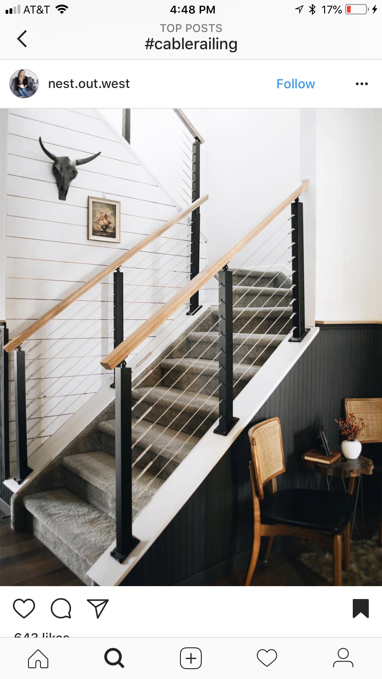 Best Pin By Kate Kass On Railings Shiplap Stairs Home Deco 640 x 480