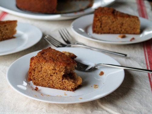 Food Caramelized Honey Cake