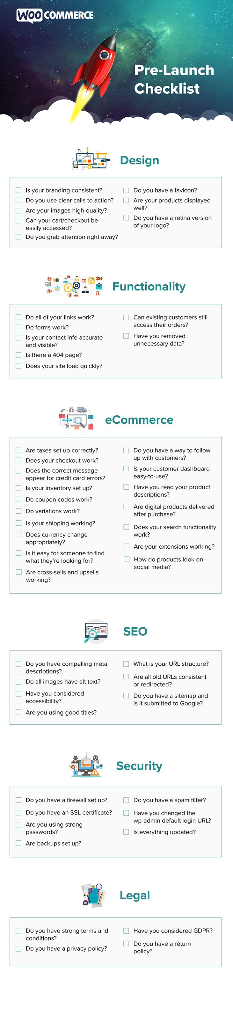 Ecommerce Checklist 49 Things To Check Before Launching Your Online Shop In 2020 Infographic Marketing Start Online Business Business Template