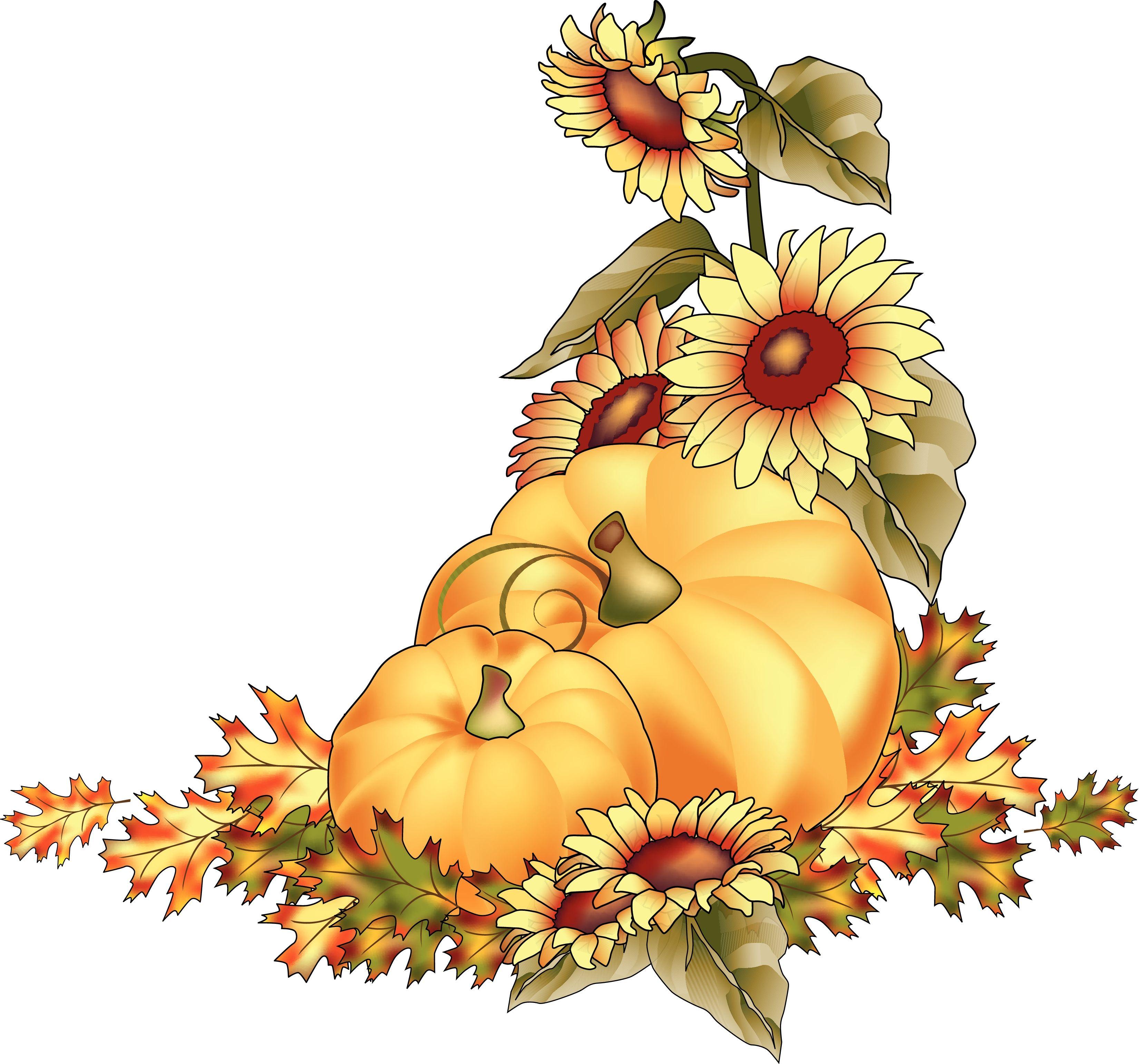 Fall Pumpkin Clip Art | Pumpkins At Harvest Color Clipart ...
