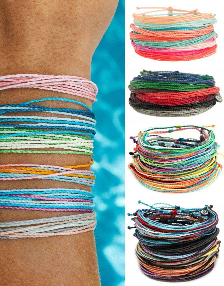 Authentic Original Waterproof Pura Vida Friendship Bracelets