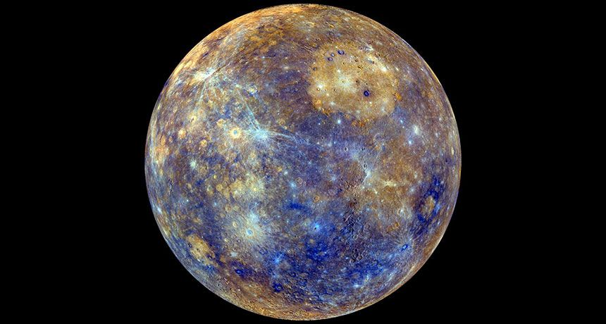 Pictures Of Mercury In Color