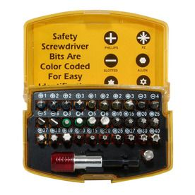 Buffalo 32 Piece Multi Bit Screwdriver Ps07562 Tools Hand Tools