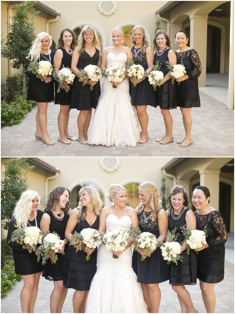 Megan joe outdoor wedding pictures dallas wedding dallas wedding photographer mary fields photography bridal party pictures black mismatched bridesmaid dresses ombrellifo Choice Image
