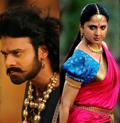 Prabhas And Anushka In Bahubali Sword fight between Pr...