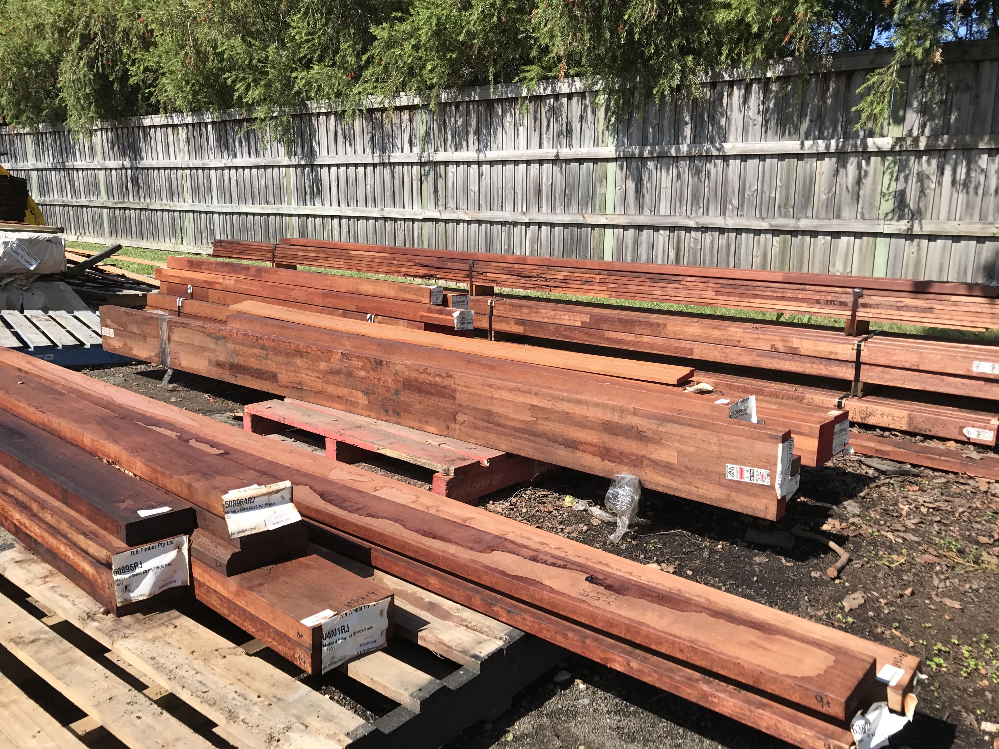 Landscaping Auction To Be Published Soon Keep An Eye Out For These Beautiful Timbers Going Under The Hammer British Paints Timber Landscape