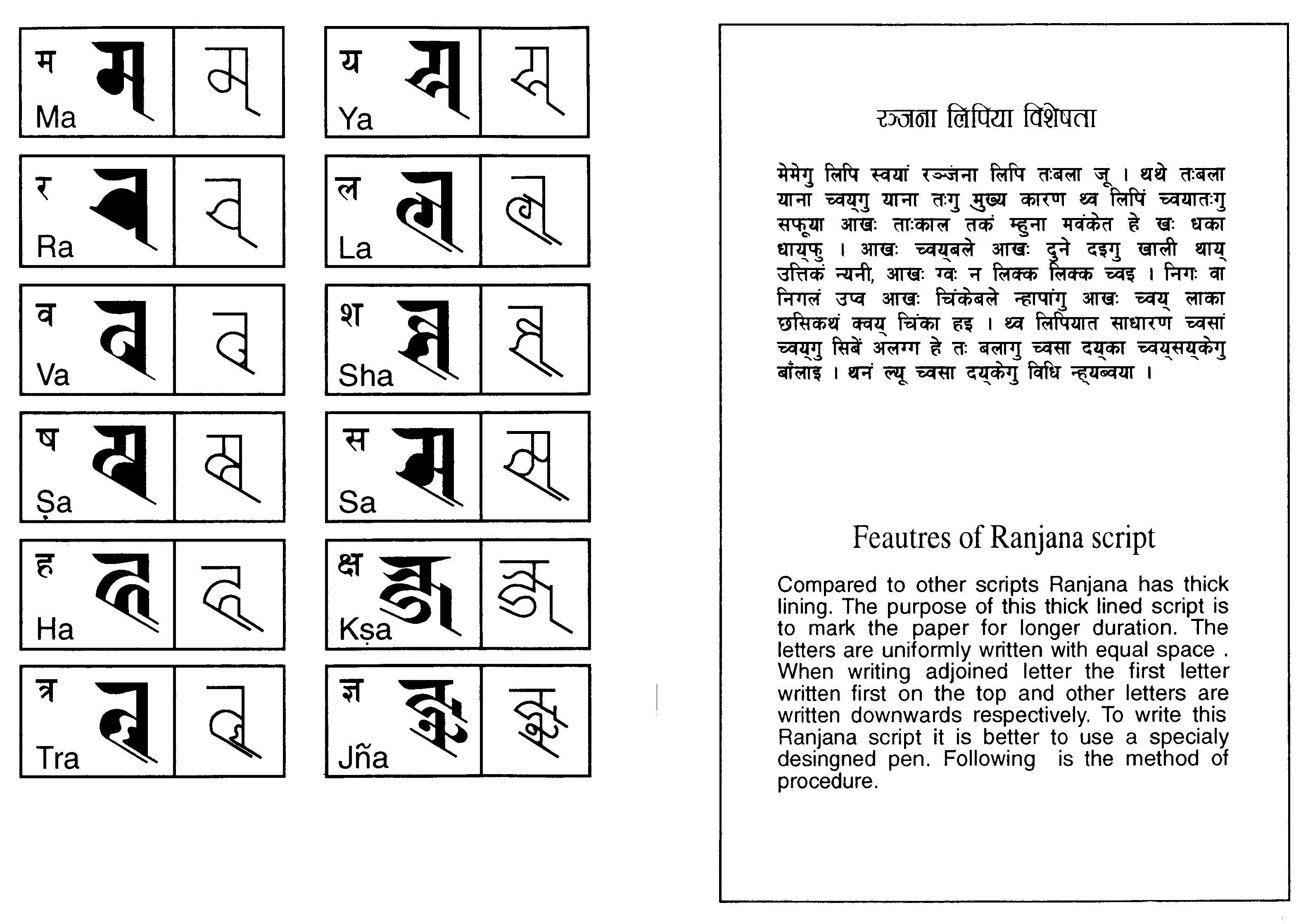 Features of ranjana script httpspinterestaanndaranjana features of ranjana script httpspinterestaannda altavistaventures Images