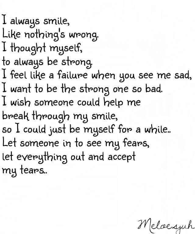 I always smile quotes