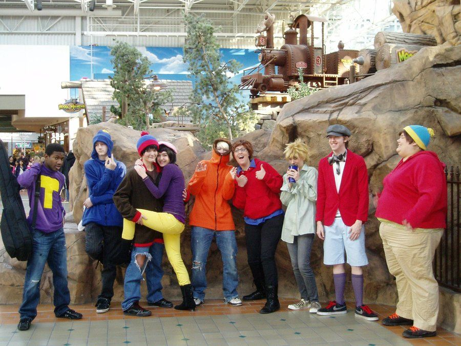 south park cosplay group by cosplaytokenblackdeviantartcom on deviantart cosplay costumescosplay ideascostume ideashalloween - Southpark Halloween Costumes