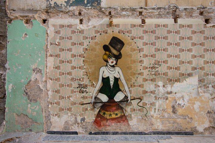 Miss Van in Raval Barcelona