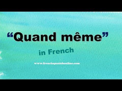 Quand Meme In English Youtube Teaching French Memes Teaching