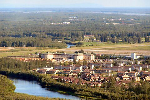 Fort Wainwright Is Located In Central Alaska Near Fairbanks The