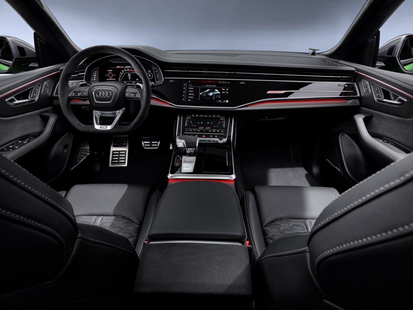 Audi Rsq8 Rs Q8 4 0 Tfsi V8 600 Hp Mhev Quattro Tiptronic Cod Petrol Gasoline 2019 Rs Q8 4 0 Tfsi V8 600 Hp Audi Rs Audi Audi Interior