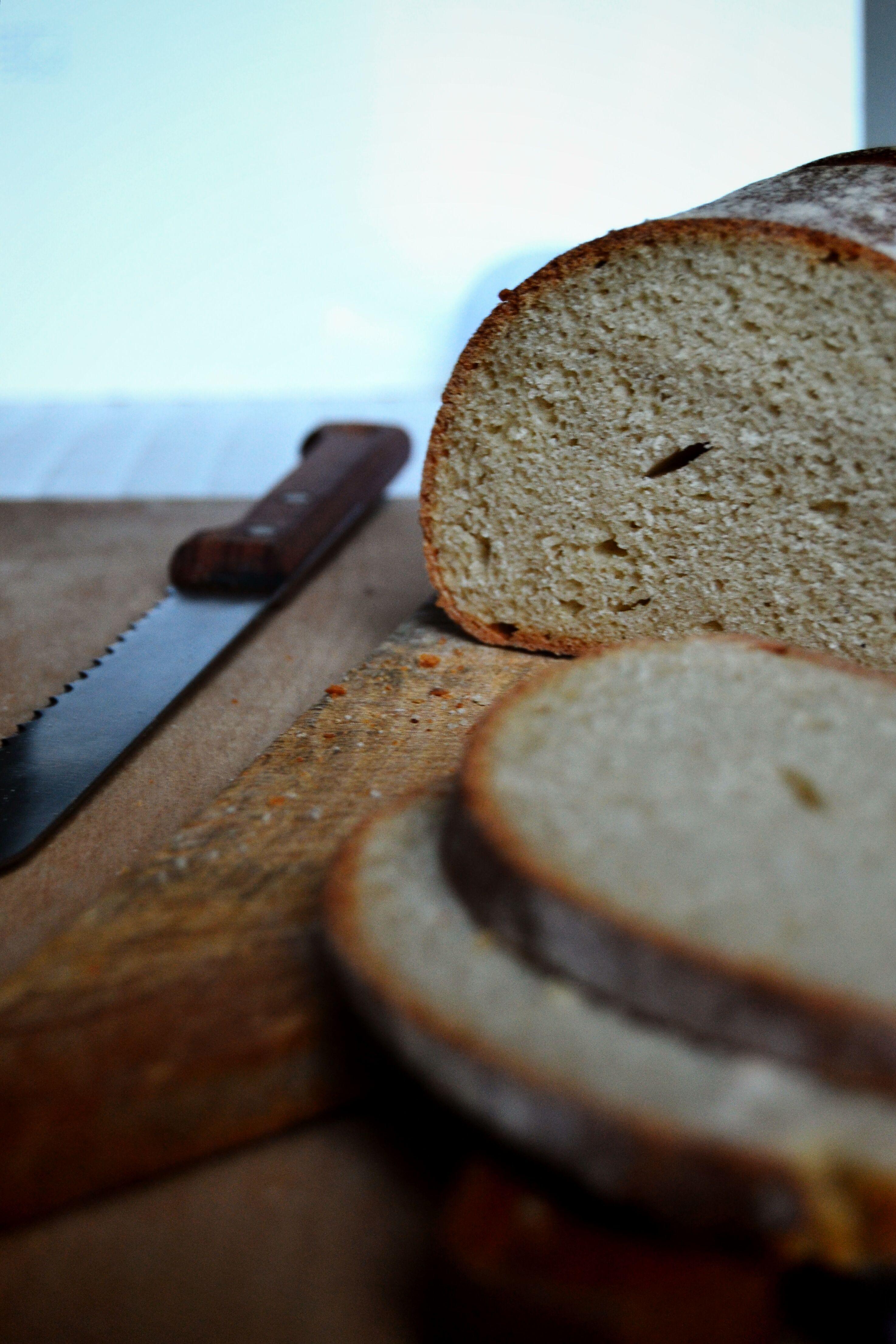 Pane con tahin e semola di grano duro - sourdough tahini bread