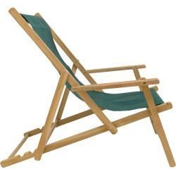 Garden Furniture Wood Maxx Deckchair Deck Chair Acrylic Dark