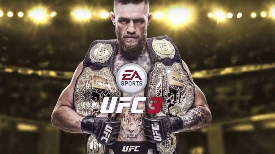 Conor Mcgregor Gets The Ufc 3 Cover Ea Sports Ufc Ufc Ea Sports