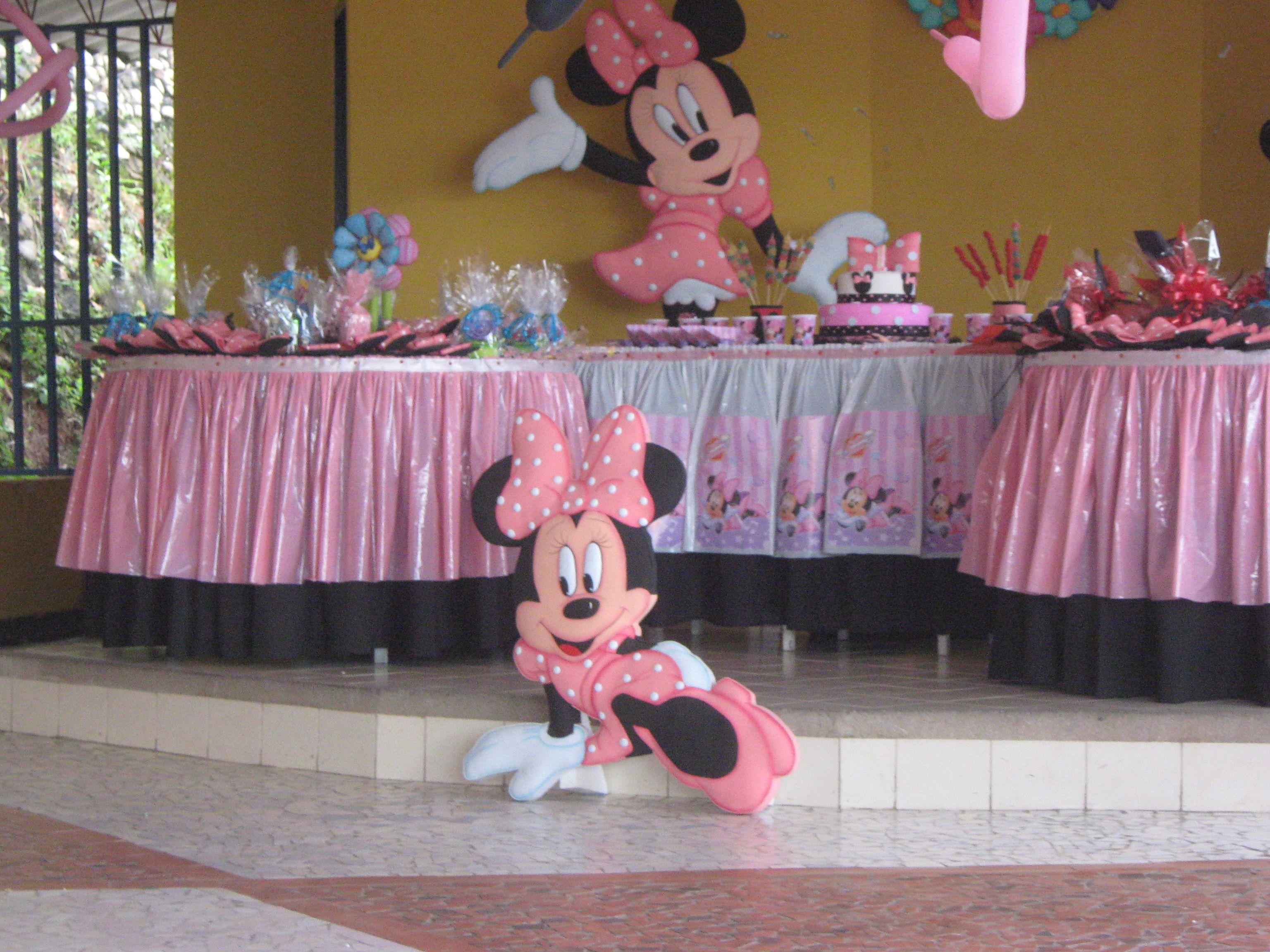 Ideas para cumpleaños de Minnie - Imagui