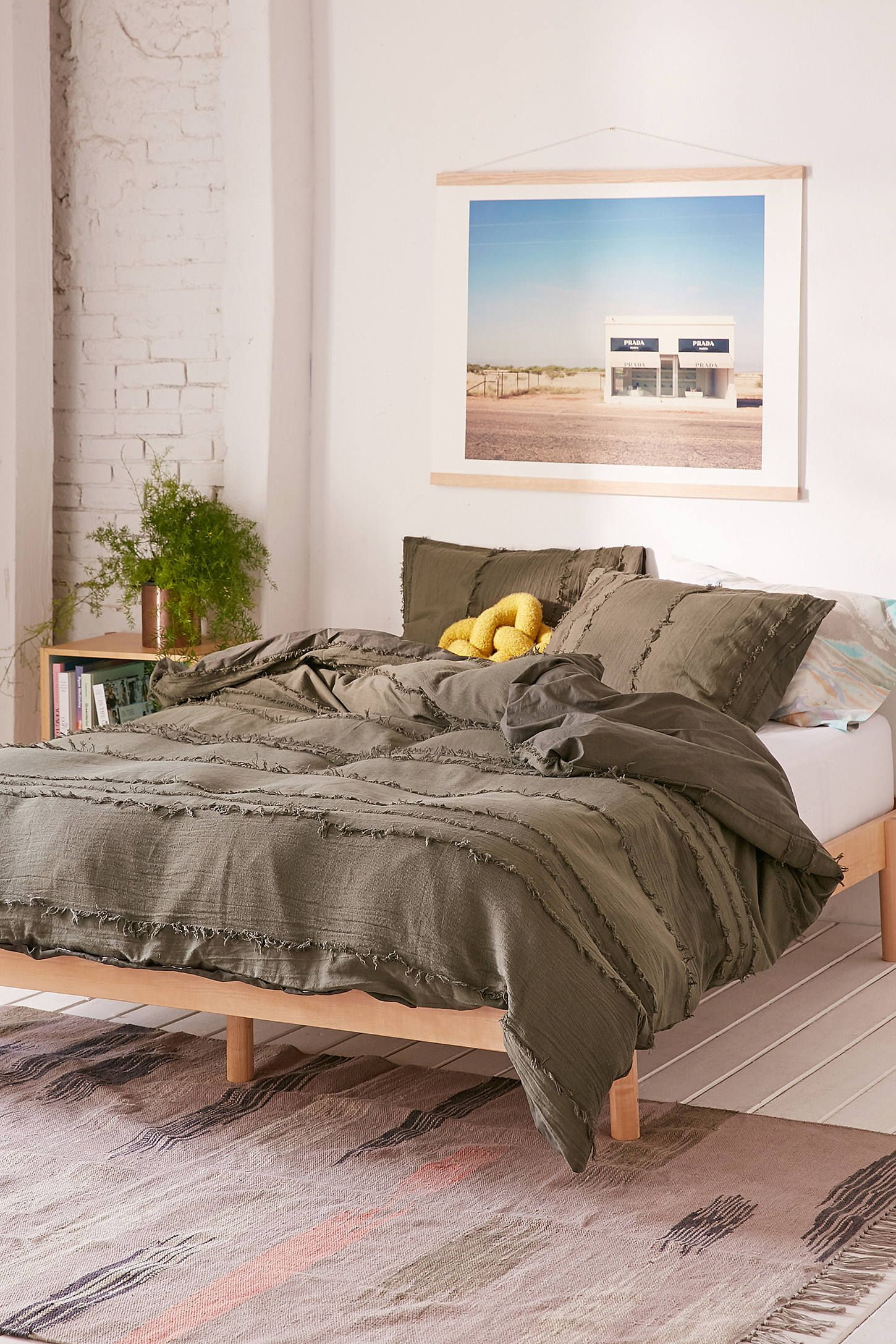 Willow Fringe Duvet Cover