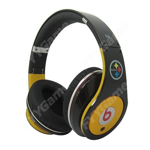 Buy Monster Beats By Dr.Dre Pittsburgh Steelers Limited Edition Headphones from Fyygamehttp://www.fyygame.net/