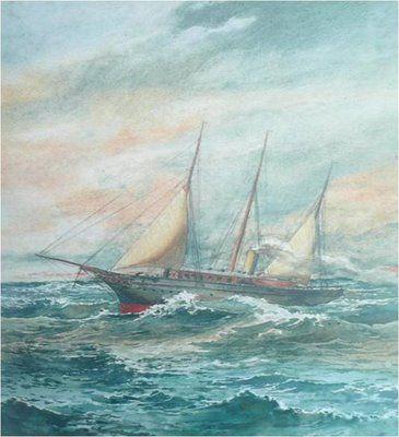 Outra marinha, novamente aguarela