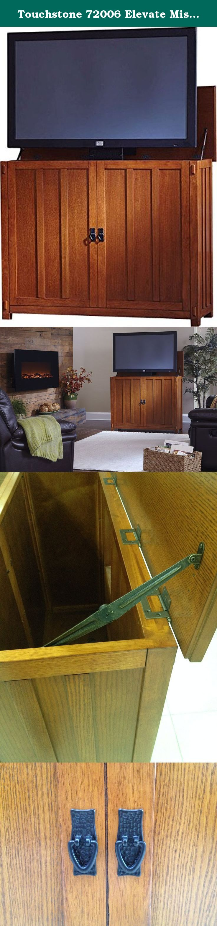Touchstone Elevate Mission TV Lift Cabinet For TVs Up To 42