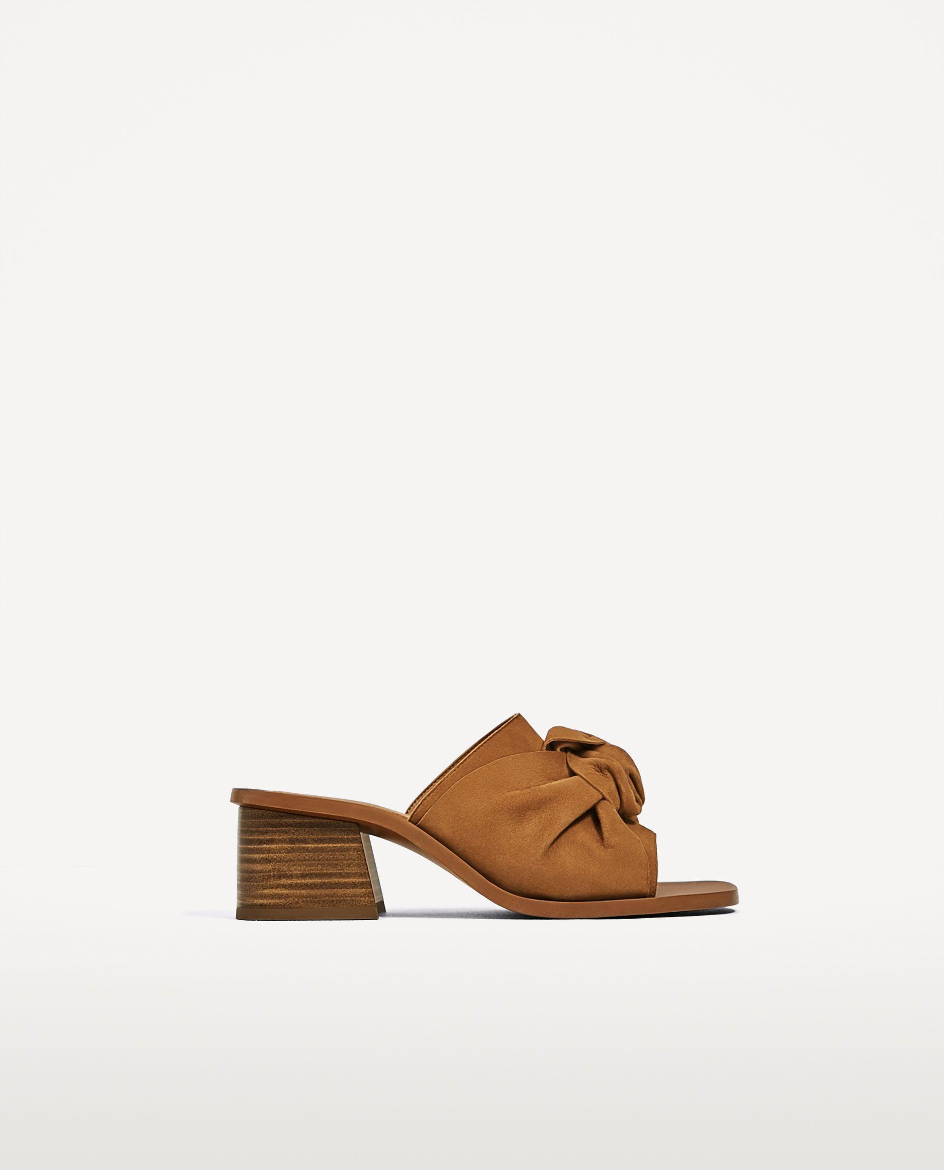 Zapato Piel Imagen Detalonado Zara Nudo Tacón 2 Sales Ss17 De HIHwqEx4nO