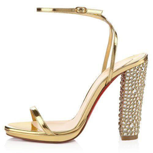 bas prix f235e 44446 Chaussure Louboutin Pas Cher Sandales Au Palace 120mm ...