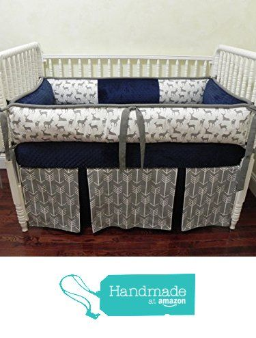 Nursery Bedding, Baby Crib Bedding Set Kees Navy, Gray and Navy Baby Bedding, Deer Crib Bedding, Gray Arrows Baby Bedding - Choose Your Pieces from Just Baby Designs Inc https://www.amazon.com/dp/B01F4E4XCW/ref=hnd_sw_r_pi_awdo_H-cpyb3MZBFGC #handmadeatamazon