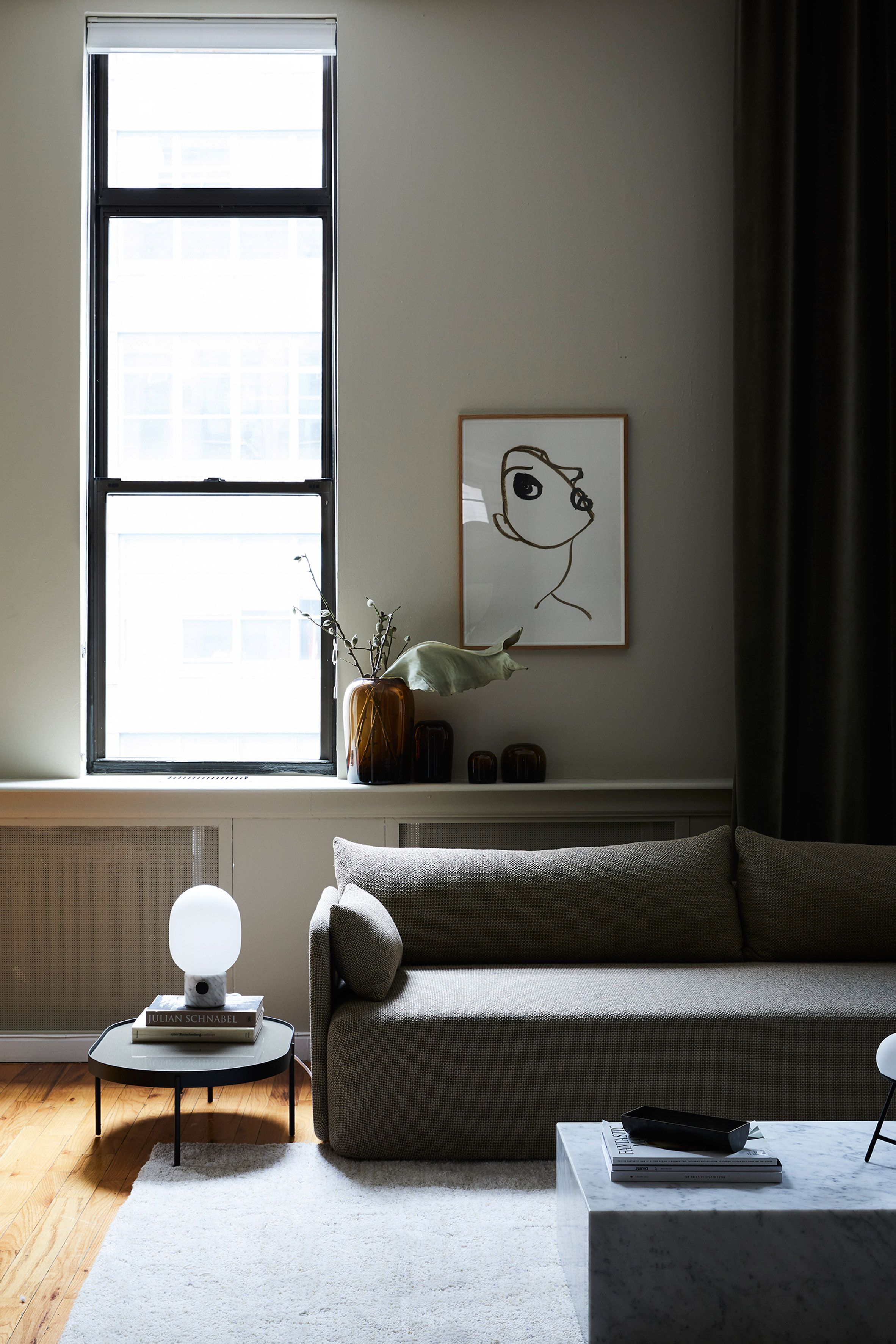 Latest Living Room: Menu Opens Showroom Apartment In New York