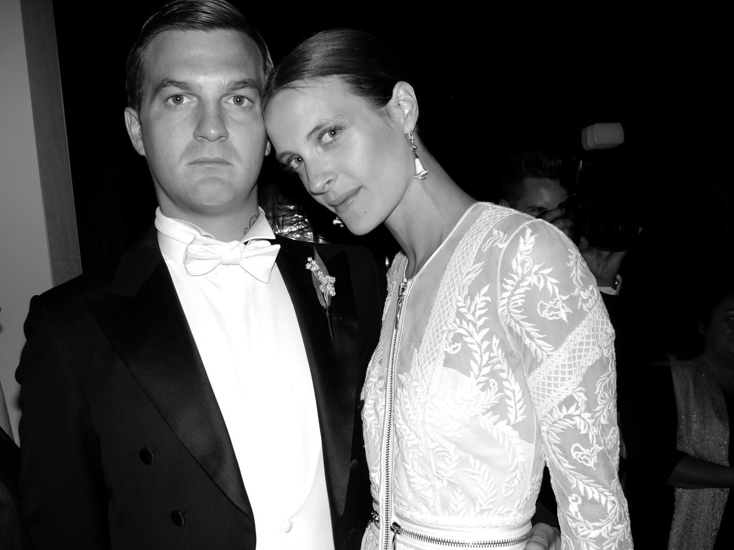 Vanessa Traina in Givenchy Haute Couture by Riccardo Tisci Wedding ...