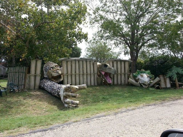 Funny Outdoor Halloween Decorations Spook Tacular Pinterest