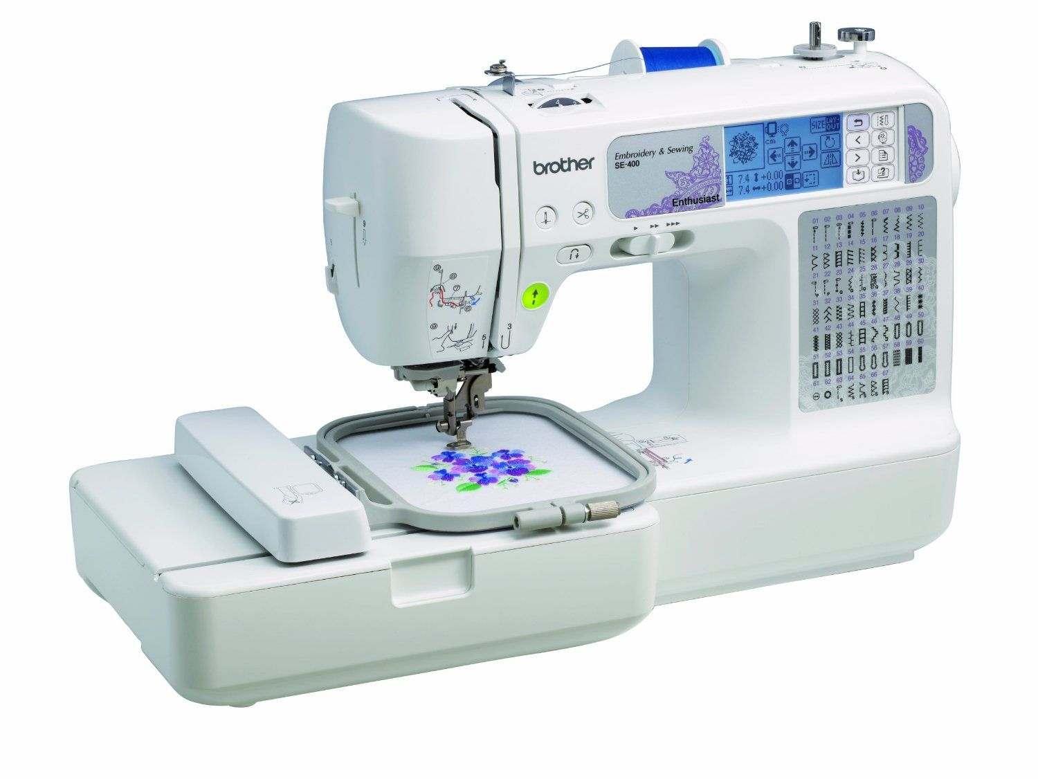 Best Brother Embroidery Machines Computerized sewing