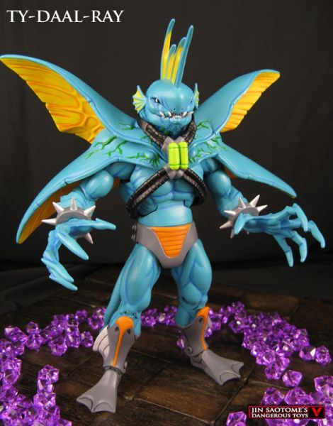 Ty-Daal-Ray (Masters of the Universe) Custom Action Figure by Jin Saotome Base figure: MOTUC