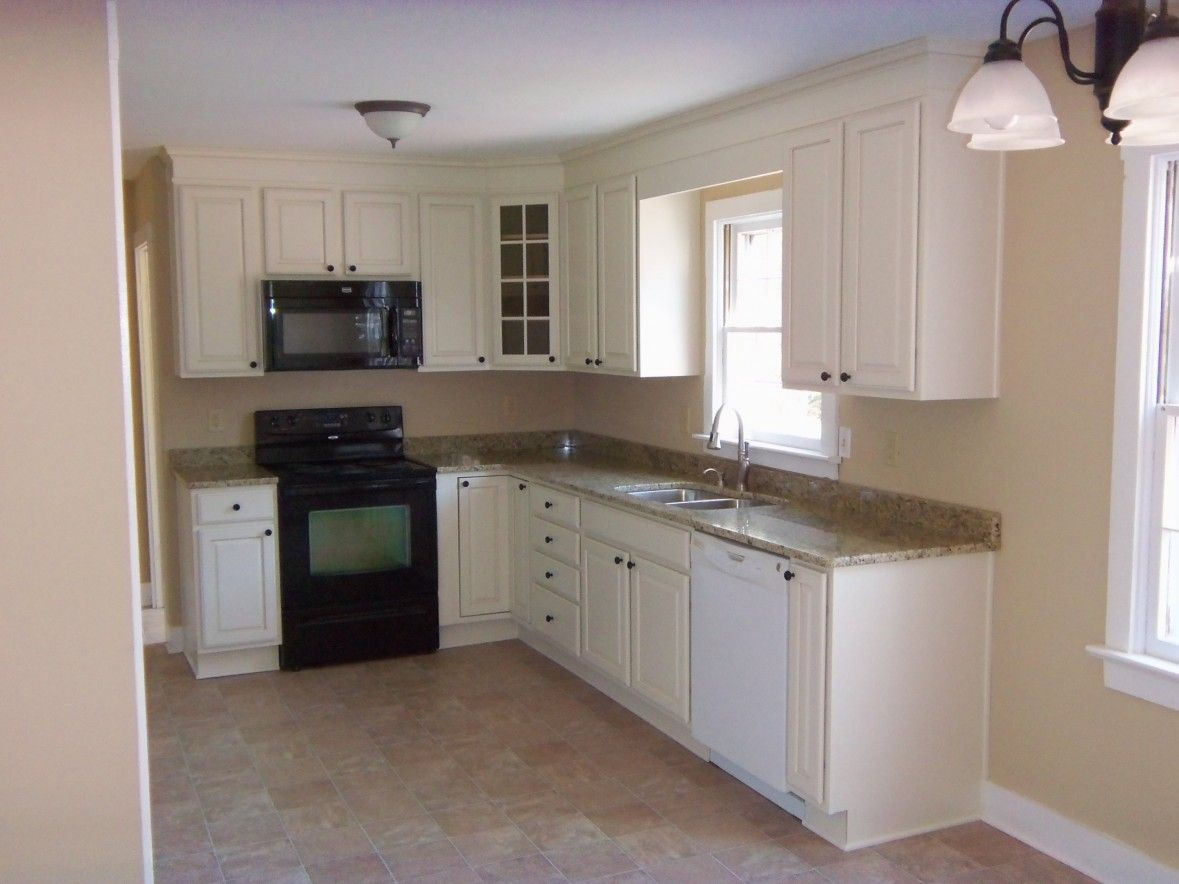 Kitchen Layout Idea, But Fridge Where Dishwasher And Upper Cabinet Are (on  The Far. L Shape KitchenKitchen SmallDiy ...