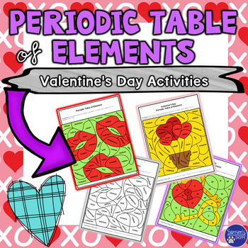 Periodic table of elements valentines day review activity periodic table of elements valentines day review activity periodic table atomic number and physical science urtaz Gallery